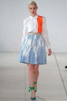 Jonathan Saunders Spring 2011 Ready-to-Wear Collection Photos - Vogue