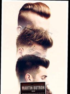 Corte de cabello en estética Martín Butron Corte de cabello para hombre Hombre…
