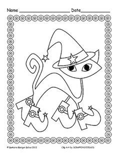 How cool is this?  Silly - Scary Coloring Pages only $2