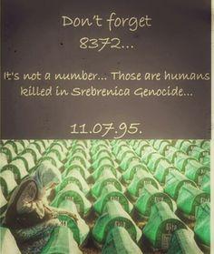 Never forget Srebrenica!#bosniaandherzegovina #srebrenica #genocide