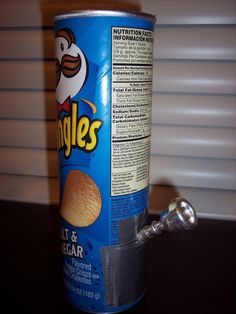 Pringles Can | 21 Life-Changing Ways To Use Everyday Objects As Bongs
