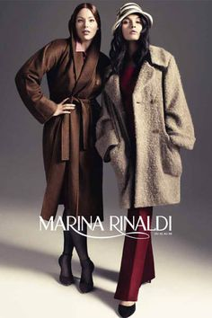 Marina Rinaldi Fall Winter 2011 AdCampaign