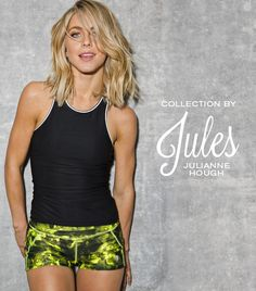 jules by julianne hough, activewear, collaboration