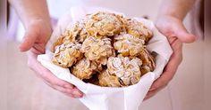 Cucina facile con i video e non solo: Biscotti ai cereali alla forma di rose