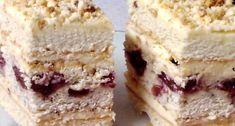 Salmon and mozzarella cake - Clean Eating Snacks Russian Cakes, Russian Desserts, Russian Recipes, Baking Recipes, Cake Recipes, Dessert Recipes, Food Cakes, Cupcake Cakes, Polish Desserts
