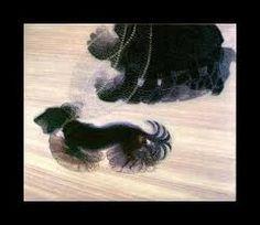 "Italian Futurism: Giacomo Balla, Dynamism of a Dog on a Leash, oil on canvas, 35 x 43 "" (Albright-Knox Art Gallery, Buffalo) Gino Severini, Umberto Boccioni, Giacomo Balla, Italian Futurism, Art Gallery, Mark Rothko, Paul Gauguin, Arts And Entertainment, Art Plastique"