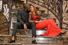 The Romantic Engagement Session Inspiration of Olaide and Pelumi