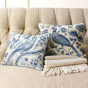 ~ Living a Beautiful Life ~ Imperial Bird Needlepoint Pillows