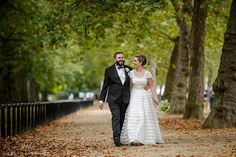 Post ceremony stroll along the Mall. Earthy Photography.
