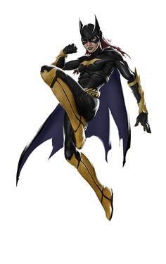 Batgirl (Arkham Knight Inspired), Kimya Sheikh on ArtStation at https://www.artstation.com/artwork/nd9BX