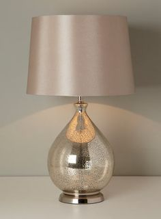 still obsessed with mercury glass lamps, but can't find a size AND shape I like.