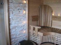 Samppanjan kuplia ja sisustuksia: syyskuu 2009 Rock Tile, Sauna Room, Painted Doors, Saunas, Ikea, Relax, Shower, Project Ideas, Projects