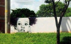 So beautiful!  Artist: Decy Graffiti - Location:  Campo Grande, Brazil