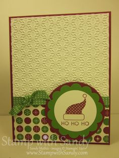 Stamp With Sandy: Christmas Stamp-A-Stack Cards