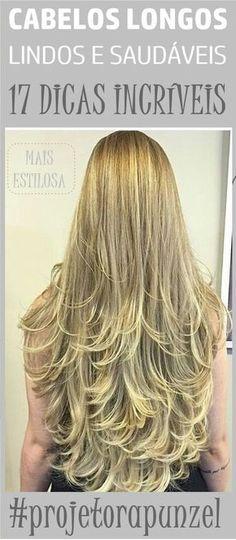Como Ter Cabelos Longos Lindos e Saudáveis: 17 DICAS INCRÍVEIS! #cabeloslongos #cabelolongo #projetorapunzel #lonhair #cabelo #hair #receitacaseira #dicas #dicasdecabelo #natural #natureba #dicasdebeleza #projetorapunzel #longhair #diy #facavocemesma #beauty #hair #homemade