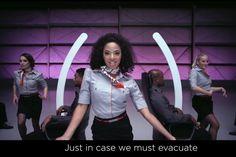 Na Virgin, instruçoes de segurança do voo ganham vídeo com música e dança http://www.bluebus.com.br/virgin-instrucoes-seguranca-voo-ganham-video-musica-danca/