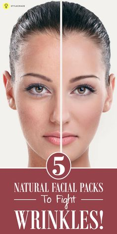 Aging is natural and as you age you will see wrinkles turn up! Our Expert Ahana, gives of 5 of the best face #homemadefacepacks for #wrinkles ...