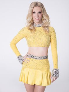 Heather Morris poses for her Dancing with the Stars portrait