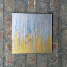 A personal favorite from my Etsy shop https://www.etsy.com/listing/237544177/silver-to-gold-silver-and-gold-painting