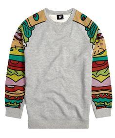 Lazy Oaf Sandwich Arm Sweatshirt