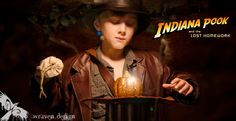 Children's Photography By Wraven Design - storybook sessions indiana jones dress up halloween costume raiders of the lost ark