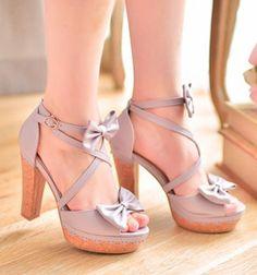bowknot sandals