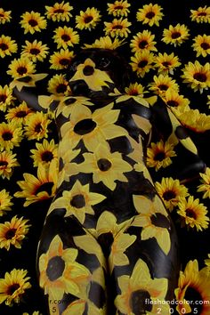 Camouflage Body Painting