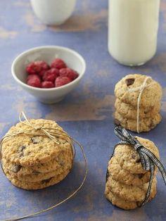 Recette de Cookies pépites aux flocons d'avoine