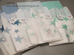 Stampin up Simply Stars