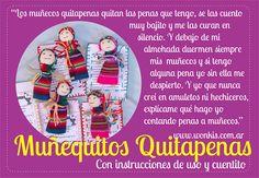 Muñequitos Quitapenas   http://www.wonkis.com.ar/2013/11/munequitos-quitapenas/