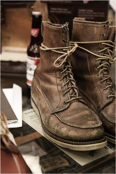 An entry from For Emma, Forever Ago | Beer and Red wing