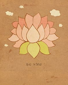 Be Kind // Inspirational Words to Live By by LisaBarbero on Etsy