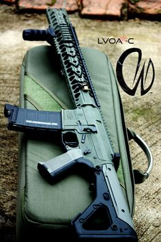 LVOA from Warsport. Monolithic upper. Shoots incredibly flat.