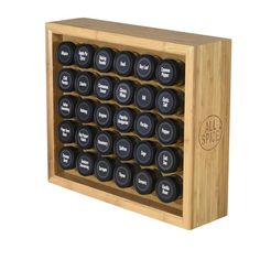 FREE SHIPPING on all spice rack orders within the U.S. The AllSpice spice rack allows you to organize your entire spice collection in one rack.