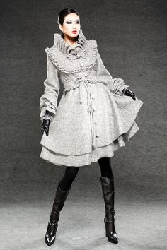 Hey, I found this really awesome Etsy listing at http://www.etsy.com/listing/118046760/gray-coat-vintage-clothing-winter-coats