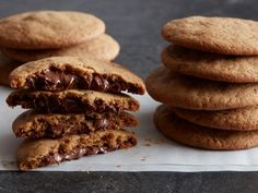 Get Nutella-Stuffed Cookies Recipe from Food Network