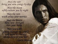Nice quote on a nice pic of actor/dancer Michael Grayeyes. (Greyeyes?)