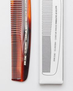 Beard Comb In Tortoise, by Baxter Of California