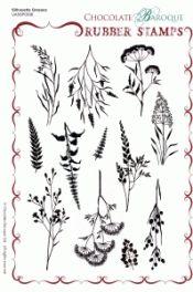 Silhouette Grasses  (A5)