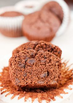 Chocolate spiced muffins