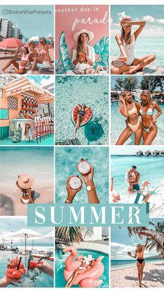 Feeds Instagram, Pink Instagram, Instagram Design, Foto Instagram, Summer Feed Instagram, Flash Photography, Inspiring Photography, Photography Tutorials, Beauty Photography