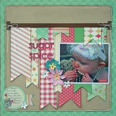 The Scrappiest: A Layout Of Scraps
