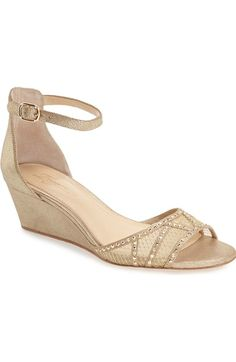 Imagine by Vince Camuto 'Joan' Studded Wedge Sandal (Women) available at #Nordstrom