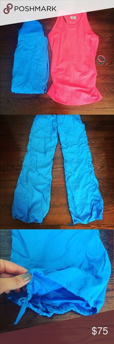 Lululemon Studio II Pants Lined Gorgeous pair of lined Lululemon Studio Pants in a size 4! Perfect condition, professionally hemmed at Lulu store to a 30.5 inch inseam with drawstring still attached at bottom hems! These are the Studio II style. Front pockets with hidden key pouch, drawstring waist. No flaws! lululemon athletica Pants Track Pants & Joggers