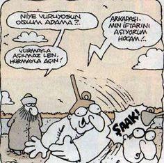 Vurmayla açın :) karikatür