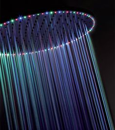 This Rio LED showerhead is only $4,000. Yes! I want my shower to look like a rainbow!