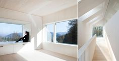 Sunlight House. Architect: Hein-Troy Architekten + Danube University Krems; location: Pressbaum, Vienna, Austria; year: 2010; foto: Adam Mørk; alcuni dati: superficie finestrata totale è pari al 51 % della superficie calpestabile.