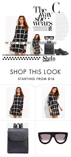 """SheIn"" by aurora8918 ❤ liked on Polyvore featuring CÉLINE, 8 and shein"