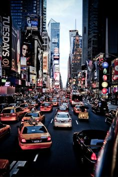 nyc- I survived driving through Time Square! Wouldn't trade one second to do it again. Loved our vacation!