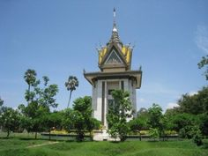 Killing fields monument, Phnom Penh, Cambodia